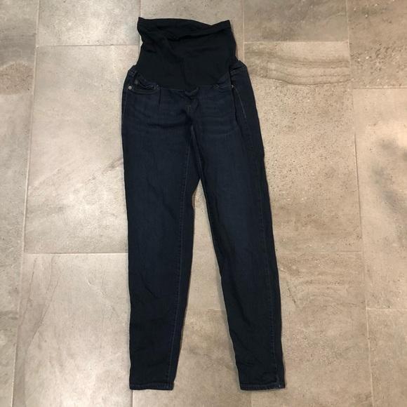 e253f6a47d5fd Luxe Essentials Apparel Denim - LED Luxe Essential Denim Maternity Jeans